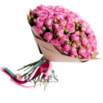 Bouquet Saint-Tropez 25 shrub roses